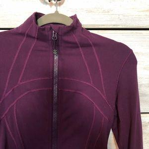 Purple Lululemon define jacket